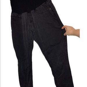 Ripe Black Jean Maternity Pants